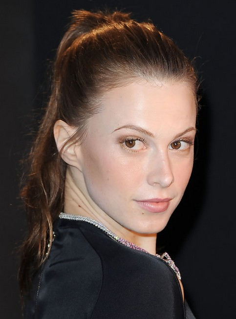 Elettra Wiedemann Long Hairstyle: Simple Ponytail