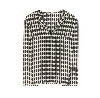 Etro Printed Silk Blouse, polka dot