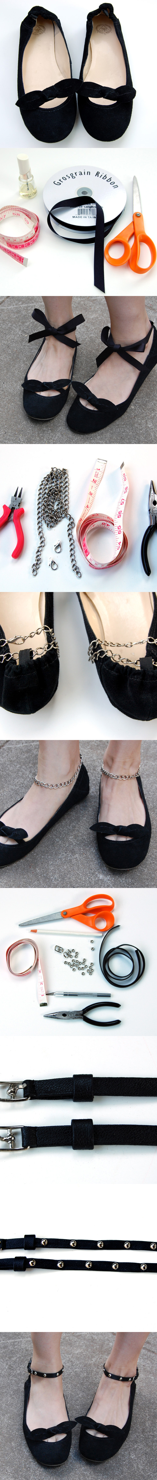 Flats with Strands and Chains