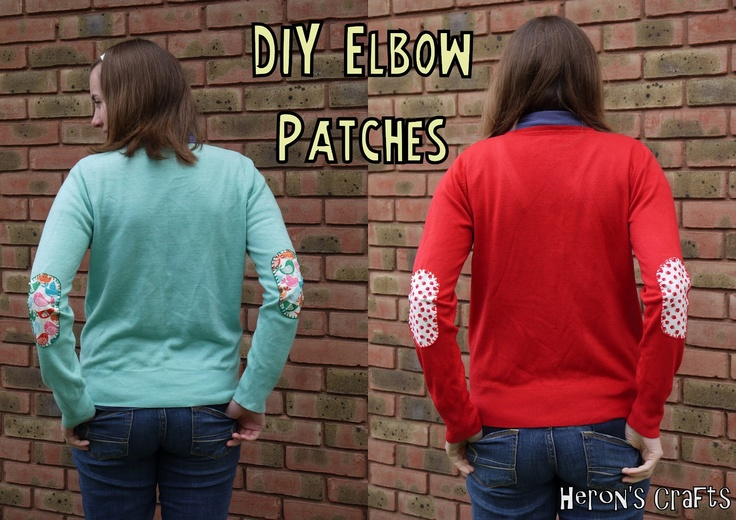 Funny Elbow Patches