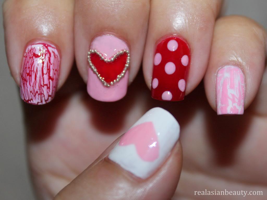 Funny Pink Nails