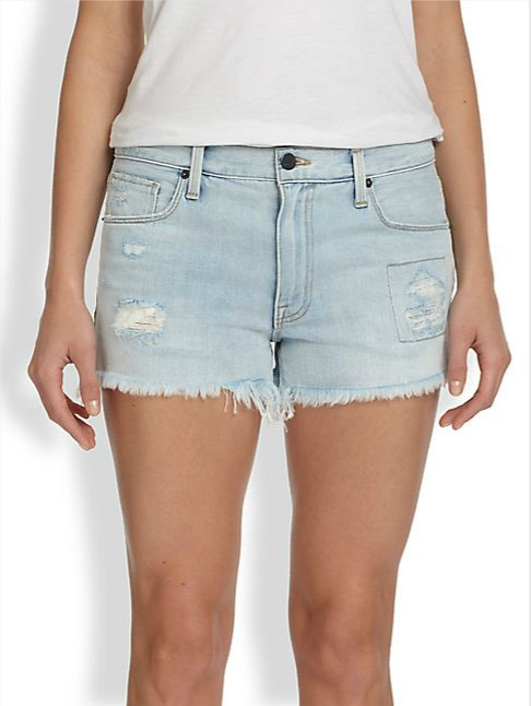 Genetic Denim Stevie Distressed Denim Shorts