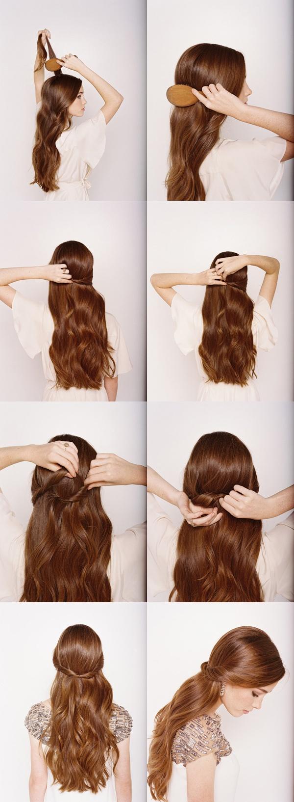 Pleasant 15 Stylish Half Up Half Down Tutorials Pretty Designs Short Hairstyles For Black Women Fulllsitofus