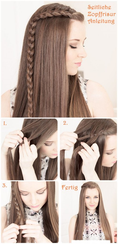 Hairstyles For Girls Easy Down 26