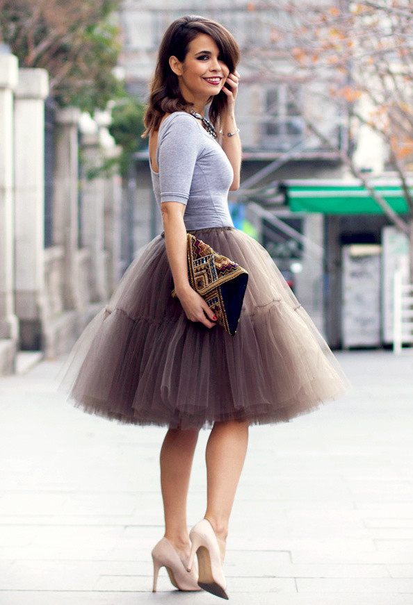 How to Wear the Tulle Skirts: A Fairy Look