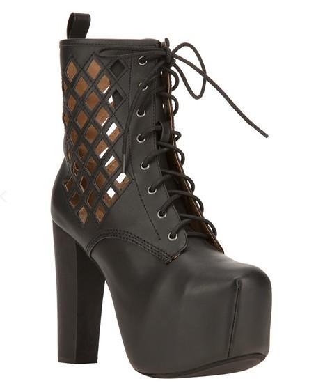JEFFREY CAMPBELL 'Spade' boot, black