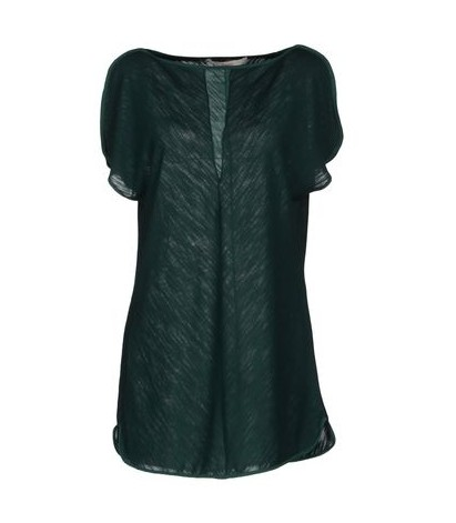 JUCCA silky top in emerald green for jewel-tone spring outfit ideas
