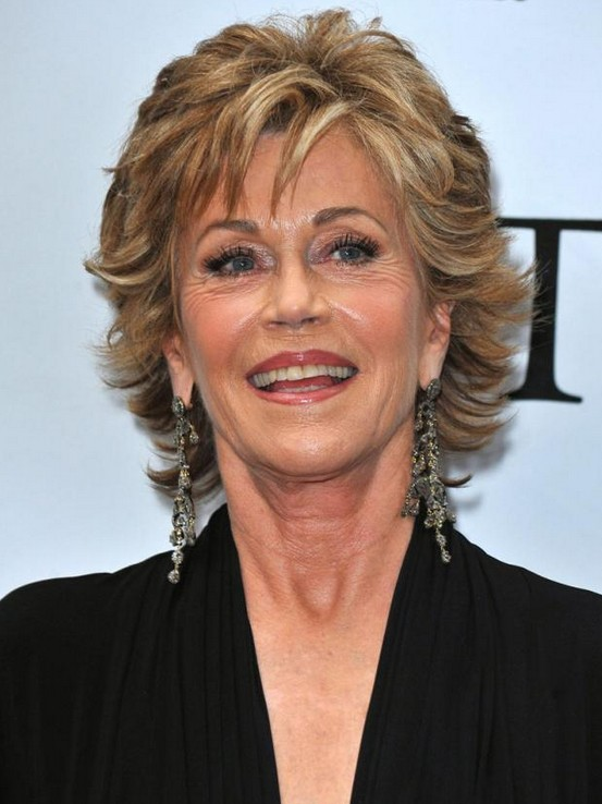Jane Fonda Hairstyle for Women Over 50