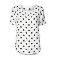 Jason Wu Polka-dot jacquard silk-blend chiffon blouse, white