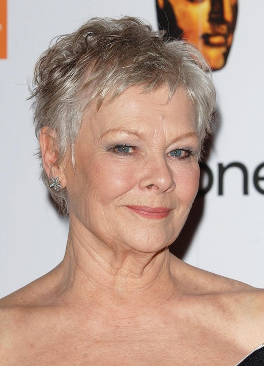Judi Dench Short Pixie Cut for Women Over 50 | Pretty Designs