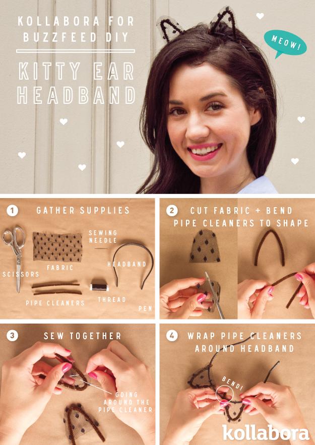 Kitty Ear Headband