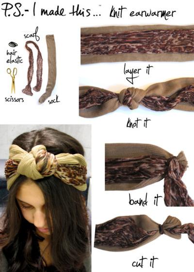 Knit Ear Warmer