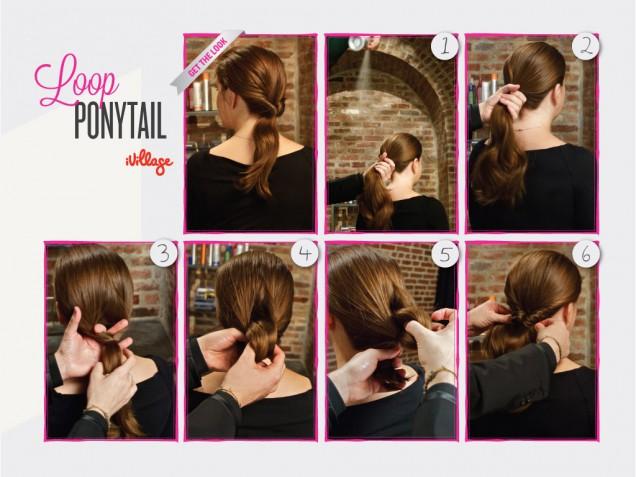 Loop Ponytail