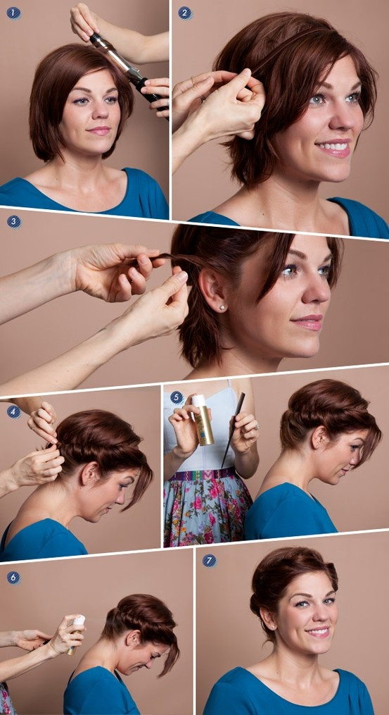 Marvelous 15 Sassy Hairstyle Tutorials For Short Or Medium Hair Pretty Designs Short Hairstyles Gunalazisus