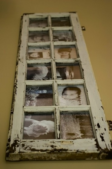 Old Window for Photo Frame