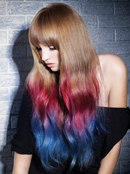 Ombre Hairstyles: Colored Ombre