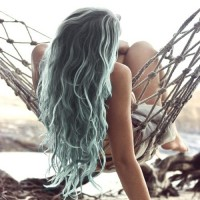 Ombre Hairstyles: Ombre Blue