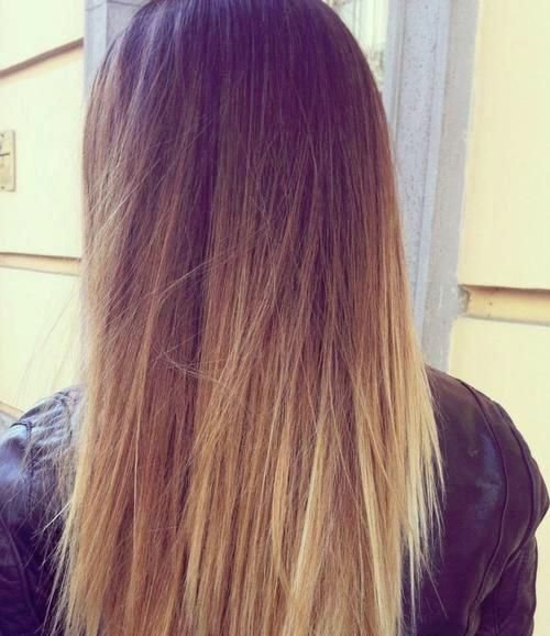 Ombre Hairstyles: Brunete to Blonde