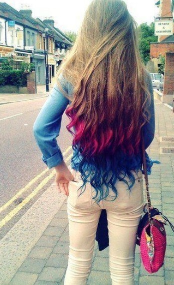 Ombre Hairstyles: Stylish Long Tresses