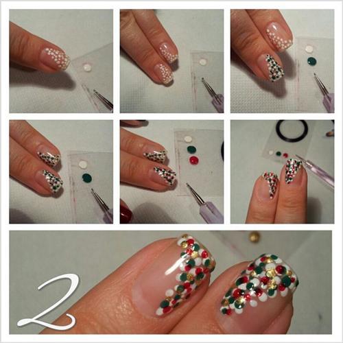 Polka Nail Art