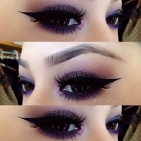 Purple Eye Makeup Looks