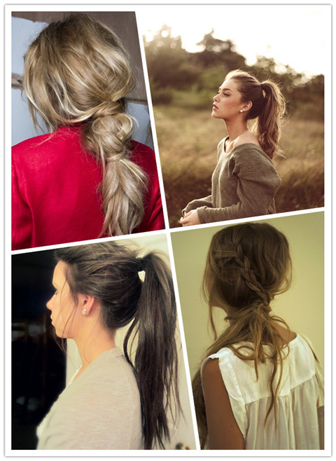 Quick Hairstyles: Messy Ponytail