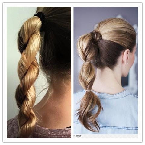 Quick Hairstyles: Sleek Ponytail
