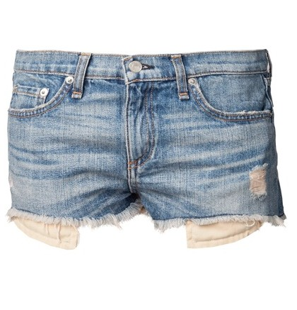 RAG & BONE 'Mila' distressed shorts