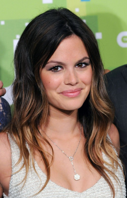 Rachel Bilson Black to Brown Ombre Hair
