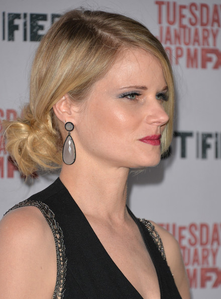 Romantic Lower Updo Hairstyles for Every Occasion: Joelle Carter Hair Knot
