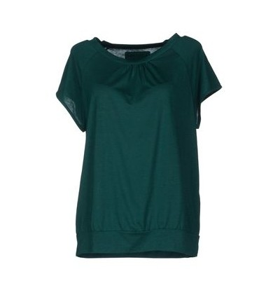 Sessun Silky Top In Emerald Green For Jewel Tone Spring Outfit Ideas