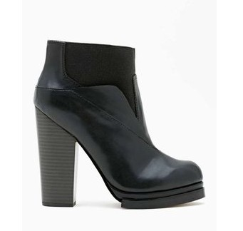Nasty Gal Shoe Cult Spectrum Boots, black-Schoolboy Styling Trick for Spring 2014