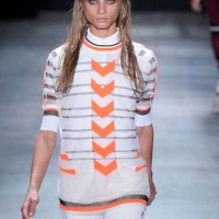 Sporty Fashion Trend, striped sporty sweater