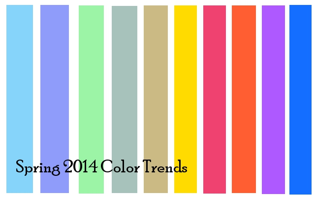 Latest Fashion And Color Trends In 2014 Pretty Designs