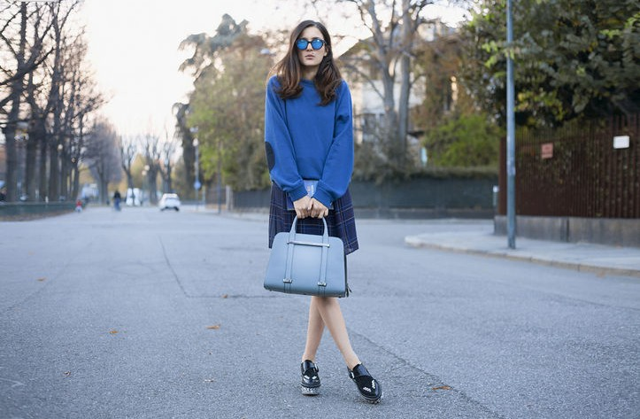 Spring 2014 Fashion Trends: Fresh Stylish Color Combination Of Navy,  Periwinkle, And Royal