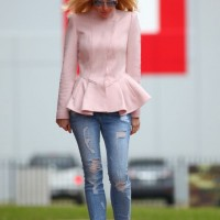 Spring 2014 Fashion Trends: Fresh Stylish Color Combination of Pastel Pink and Silver