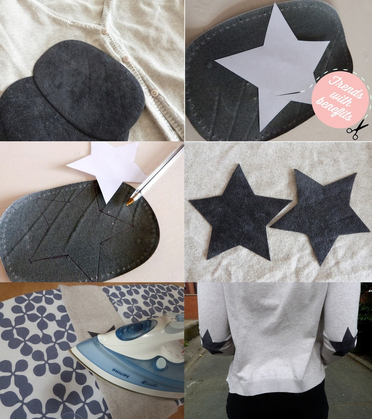 Star Elbow Patches