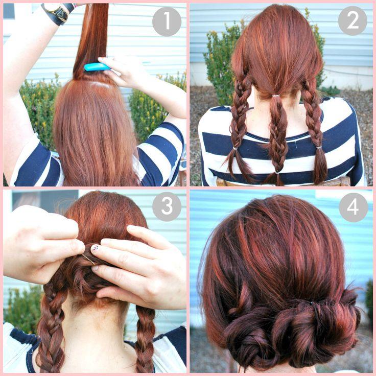 14 Bridal Hair Tutorials Pretty Designs