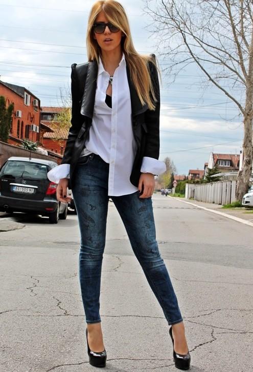 Voguish Work Clothes for Office Ladies