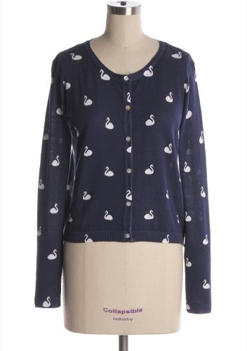 Quirky Print Style for Spring 2014: mini print knit top