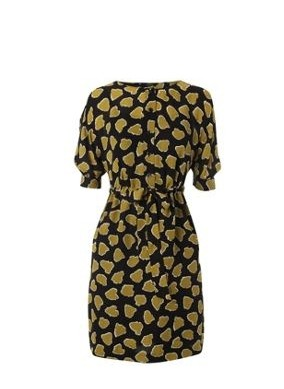 Quirky Print Style for Spring 2014: animal print cocktail dress