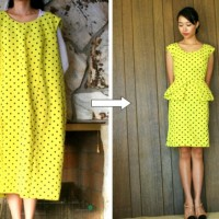 A Yellow Dress with Dots