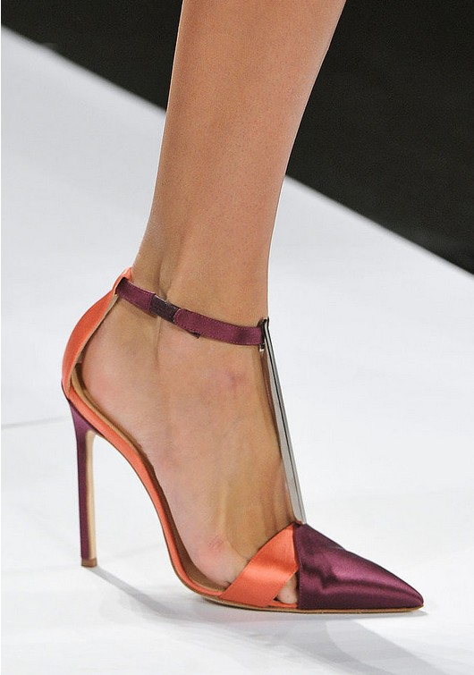 Ankle-Strap Pumps - Carolina Herrera Spring 2014