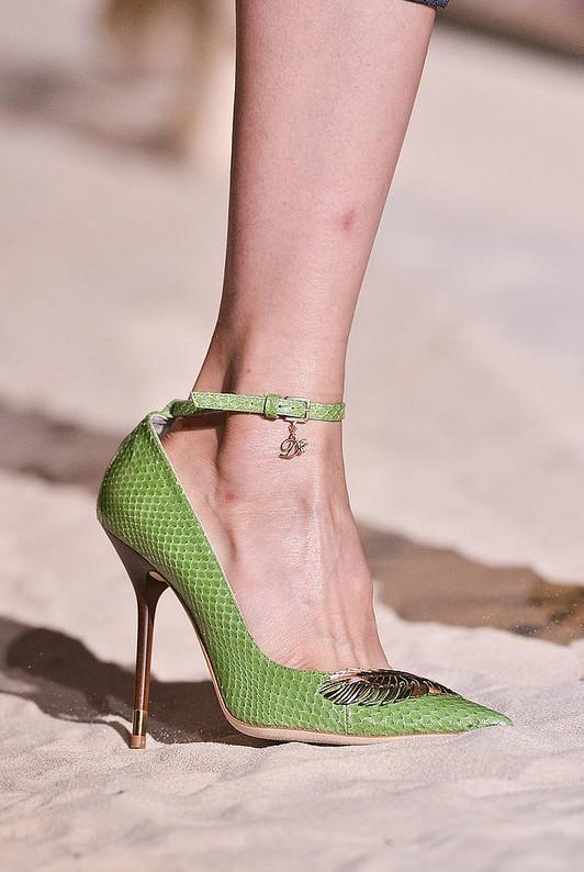 Ankle-Strap Pumps - Dior Spring 2014