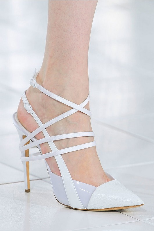Ankle-Strap Pumps - Prabal Gurung Spring 2014