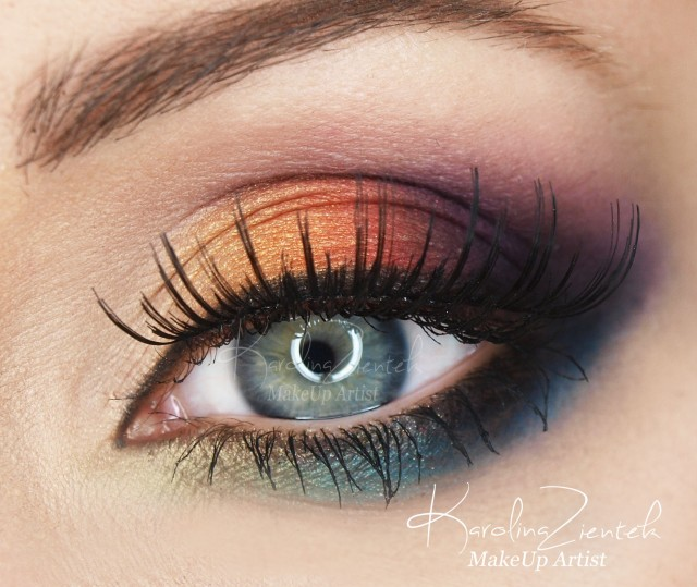 Best Eye Makeup Ideas for Blue Eyes: Amazing Rainbow