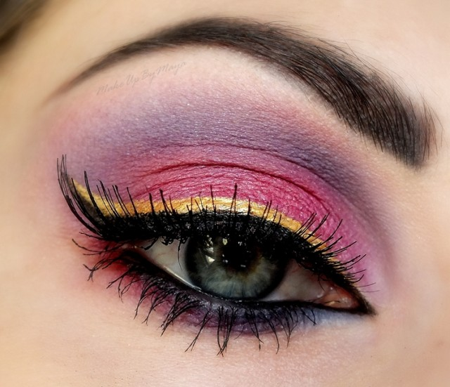 Best Eye Makeup Ideas for Blue Eyes: Double Liners