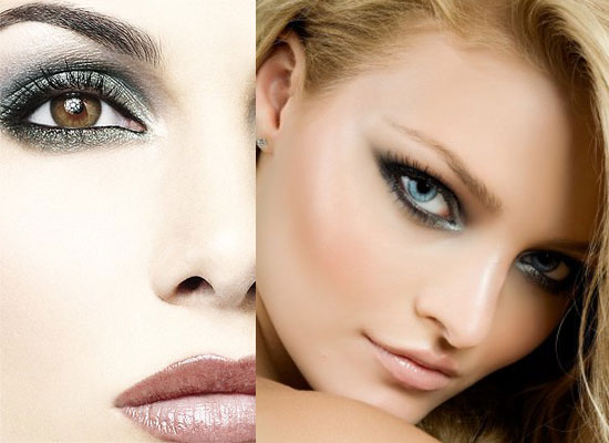 Best Eye Makeup Ideas for Green Eyes: Cool Silver