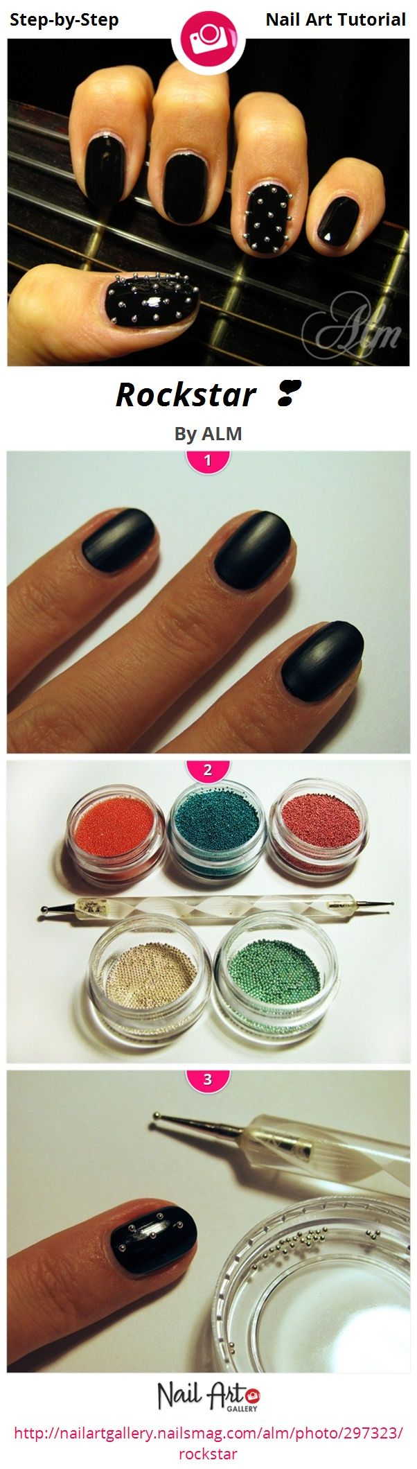 Nice Nails Magazine Nail Art Gallery Pattern - Nail Art Ideas ...