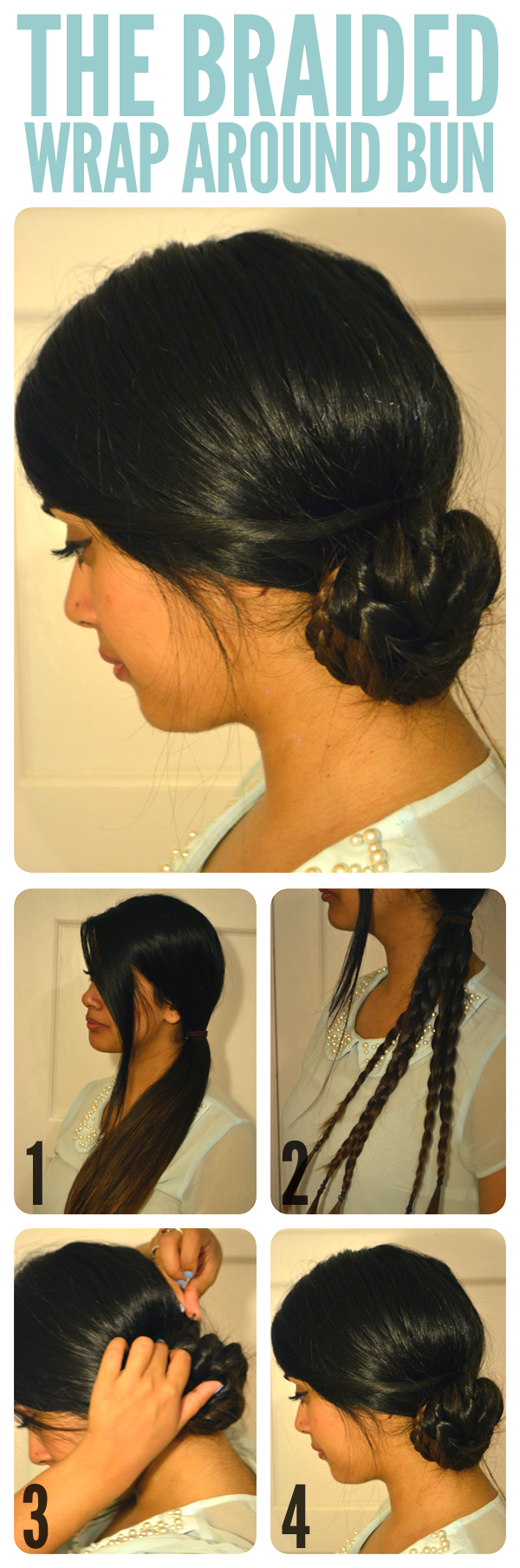Braided Wrap Bun